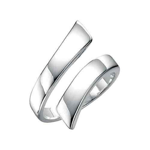 Silver Wrap Around Twist Ring