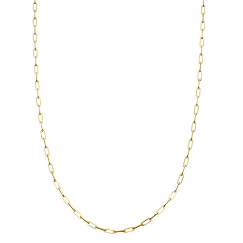 9ct Gold Paperclip Chain