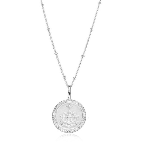 Empowerment Silver Peace & Wellbeing  Pendant