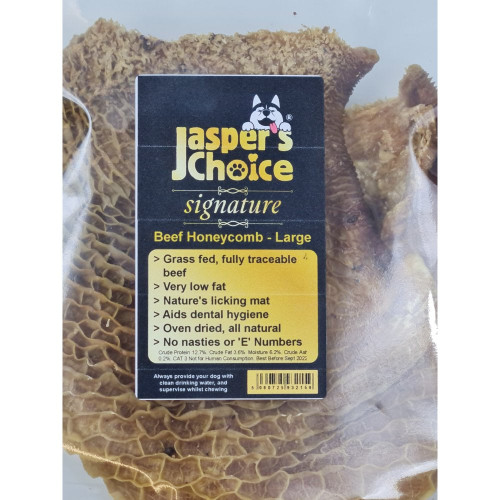 beef honeycomb washed tripe, large
