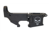 9MM 80% Lower Receiver, Punisher Etching