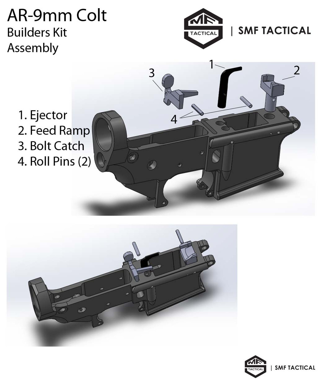 9MM Builders Kit Assembly