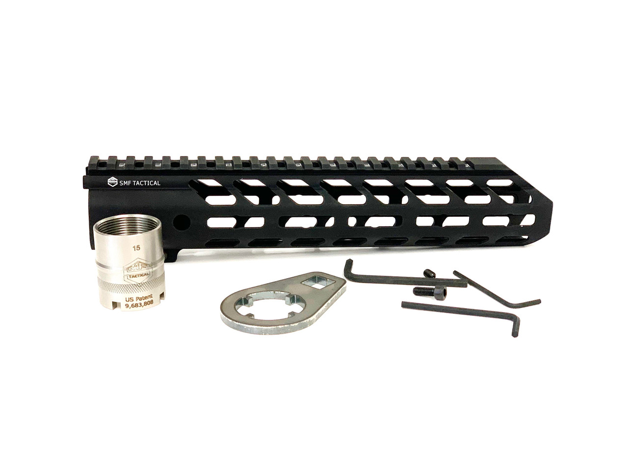 "10.5""  M-LOK Hand guard with Locking Barrel Nut System Kit Included"