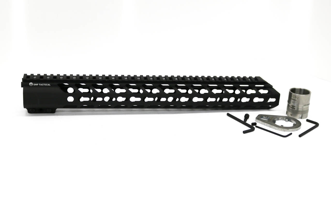 "16""  KeyMod Hand guard  with Locking Barrel Nut System Kit Included"