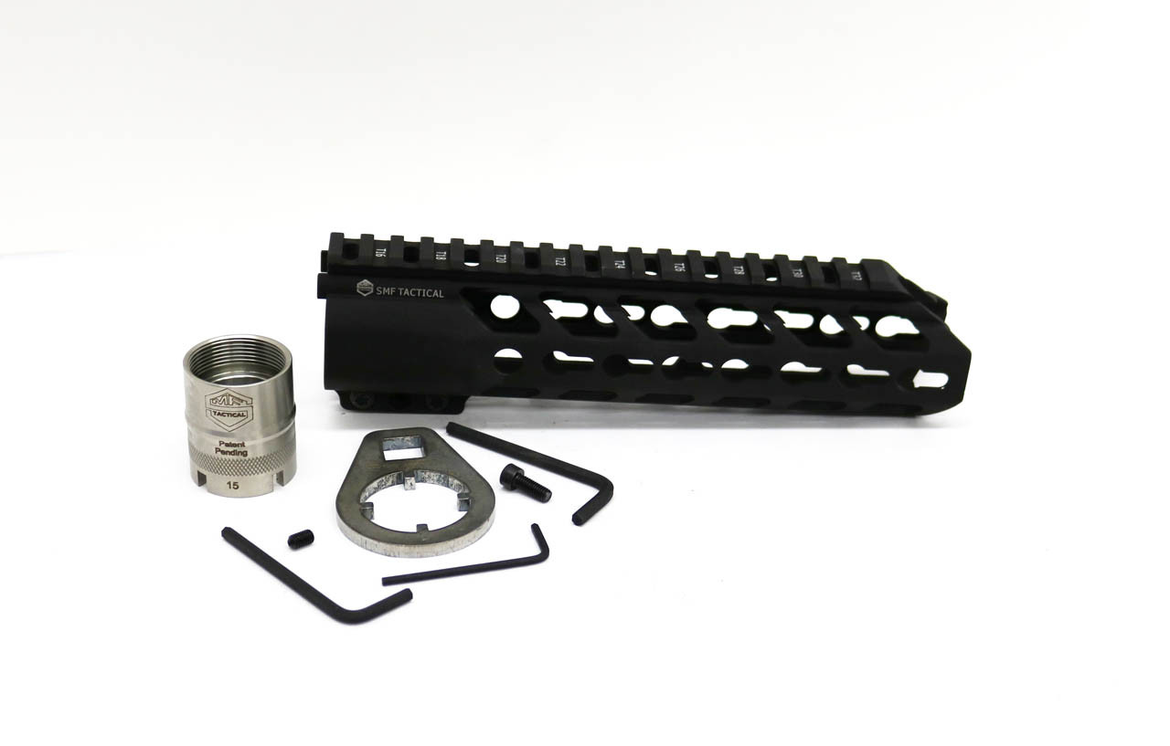 "8.5""  KeyMod Hand guard with Locking Barrel Nut System Kit Included"