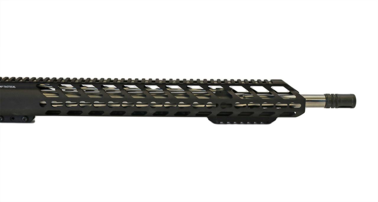 "18"" Extra Bottom Rail Hard Black Anodized Hand Guard"