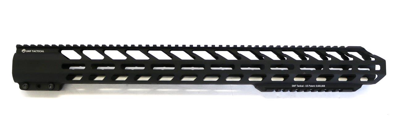 "20"" Extra Bottom Rail,  Hard Black Anodized Hand Guard - M-Lok"