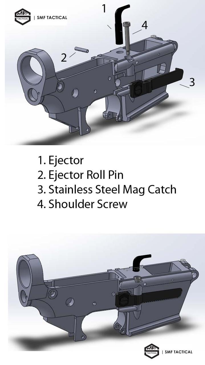 9mm Glock Lower Receiver, 80%