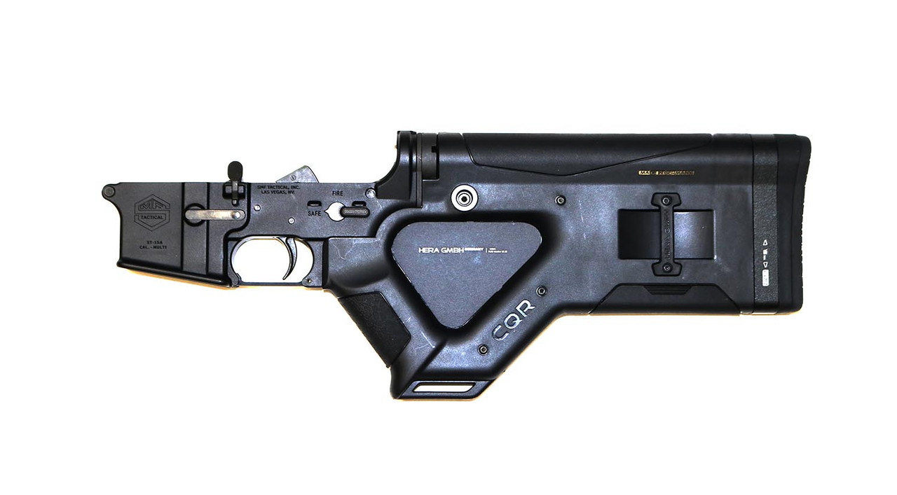 California Compliant AR-15 Lower Receiver Assembly