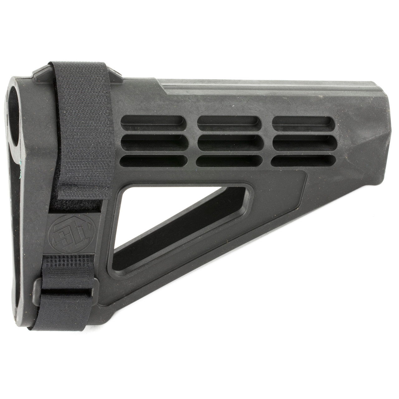 SB Tactical, SBM4, Pistol Stabilizing Brace, Fits AR Pistol Buffer Tube, Black Finish