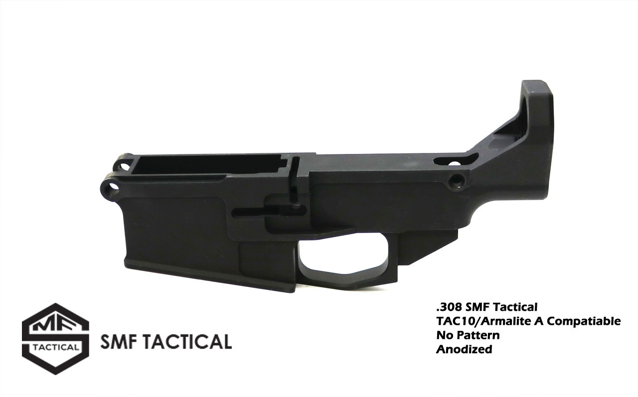 .308 SMF Tactical  TAC10/Armalite A Compatiable No Pattern Anodized