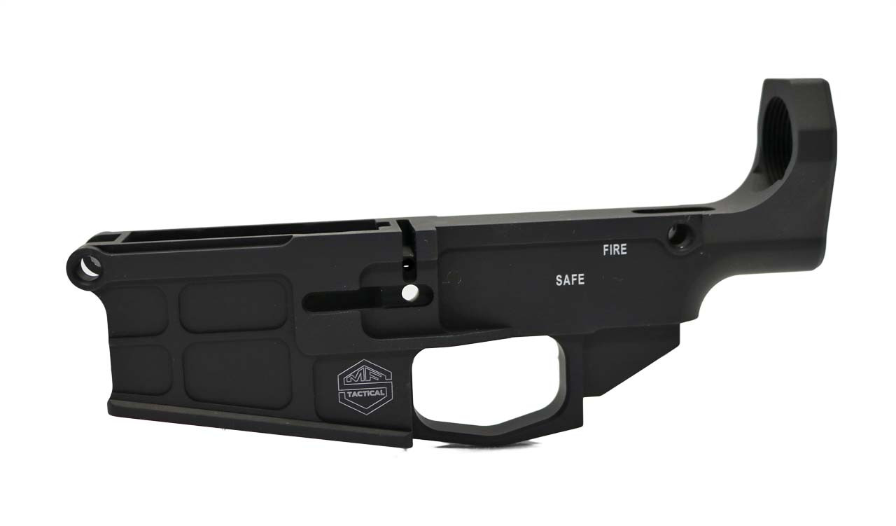 308 80% Lower Receiver, DPMS with MagPul Pattern, Hard Black Anodized