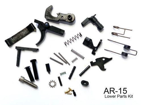 9MM Lower Parts Kit, Complete Lower parts kit, 9MM