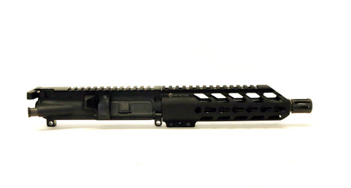 "9MM Complete Pistol Upper Receiver  Assembly, 7.25 Hand Guard, 8"" Barrel"