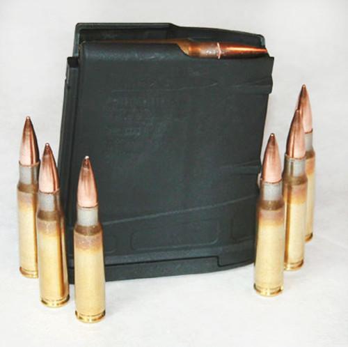 Magpul PMAG Gen 3 DPMS LR308/SR-25 Pattern AR 308 Magazine .308 Winchester 10 Rounds Polymer Black MAG290-BLK