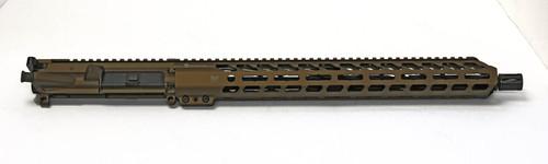 "AR-15 16"" SBR/Rifle Upper Receiver Group, Burnt Bronze, M-Lok"