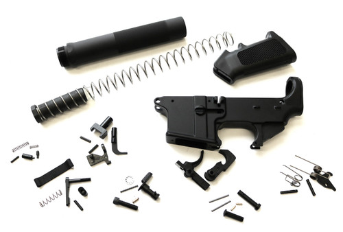 9mm Lower Builders Buy Kit Pistol