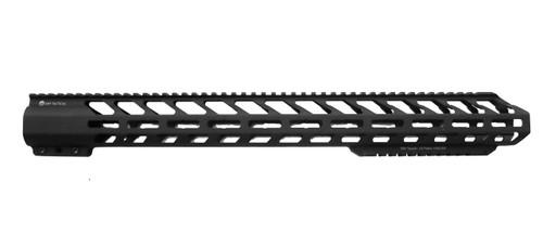 "20"" Extra Bottom Rail,  Hard Black Anodized Hand Guard"