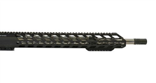 "18"" Extra Bottom Rail Hard Black Anodized Hand Guard"