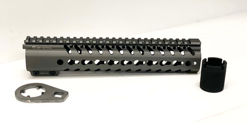 "10.5"" Hand Guard - KeyMod, AR-15 in Titanium Gray"