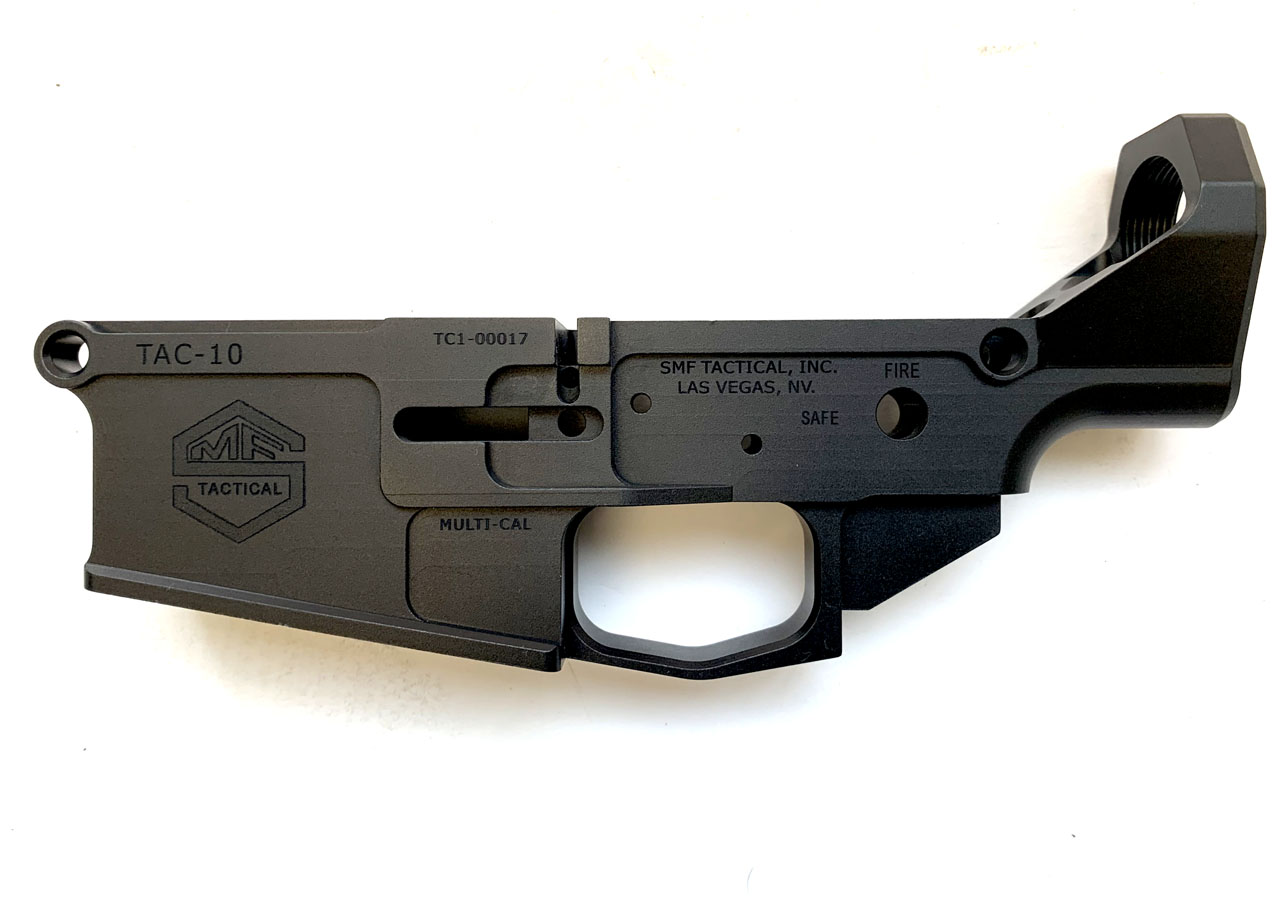 SMF Tactical Finished 308 Lower Receiver