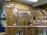 Big Boy Labrador Weathervane
