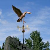 Large Landing Goose Weathervane