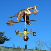 stork weathervane