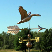 Flying Goose with Arrow Weathervane 276