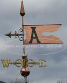 Banner Weathervane 425