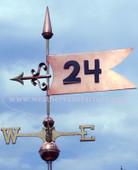 Banner Weathervane 444