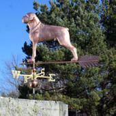 Boxer Dog Weathervane  648