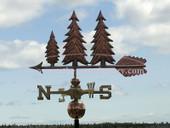 Pine Tree Weathervane
