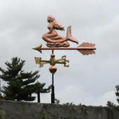 mermaid weathervane