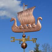 viking ship weathervane