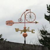 bicycle weathervane