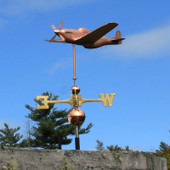 p51 fighter plane weathervane