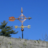 Diamond Arrow Weathervane