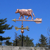 small cow weathervane