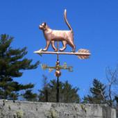 cat weathervane