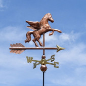 Pegasus Weathervane side view