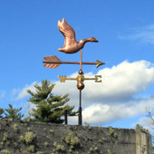 Small Flying Goose Weathervane side view