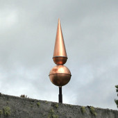 Copper Finial F145