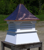 Casco Louvered Shed Cupola