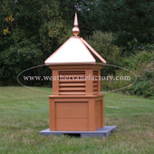 Foxcroft Color Louvered Cupola