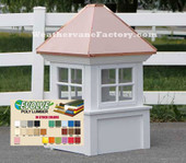 Danbury Window Color Cupola