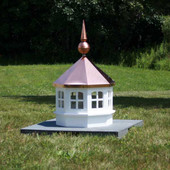 Gazebo Window Cupola with Copper Finial