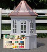 Brentwood Octagon Window Color Cupola