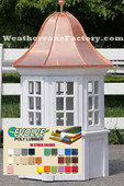 Wilton Octagon Window Color Cupola |