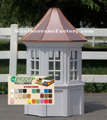 Surry Octagon Window Color Cupola